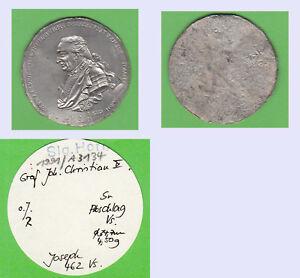 Graf-Joseph-Christian-II-zu-Solms-Baruth-Incusorabschlag-einer-Medaille-auf