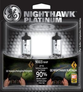 Headlight-Bulb-Nighthawk-Platinum-Pack-of-2-Front-Halogen-GE-Lighting-9003-NHP