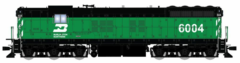 BROADWAY LIMITED 4231 HO SD7 BN GRN BLK 6006 PARAGON3 SOUND DC DCC - NEW