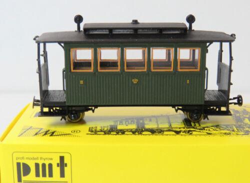 2//3.Klasse Personenwagen K.Sä.Sts.E,Ep.I,HOe,1:87,PMT Technomodell,5-2203,NEU