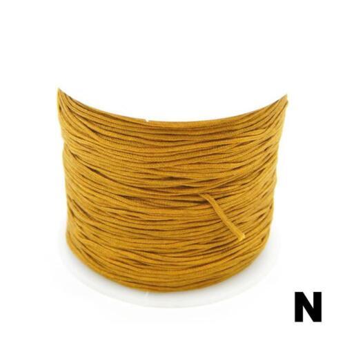 0,8 Mm Nylonschnur Gewinde Chinesischer Knoten Macrame Rattail Armband