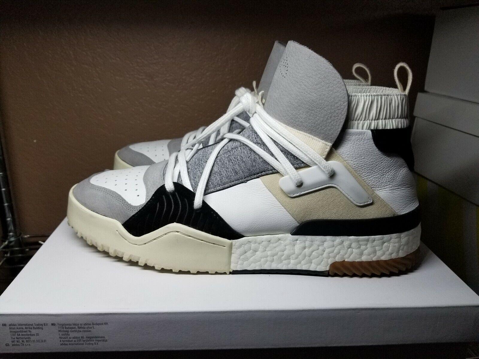 Adidas Alexander Wang BBALL HI Cream Size 13
