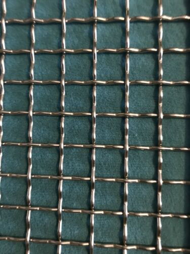 """48""""x72"""" WOVEN 304 STAINLESS MESH #2 Openings .437 Wire Diameter .063"""