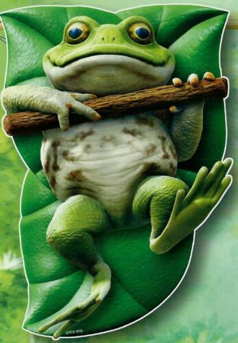 Tree Frog House Flag   Sculpted size 28 by 40 inches New