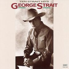 Ten Strait Hits by George Strait (CD, May-2006, MCA Records)