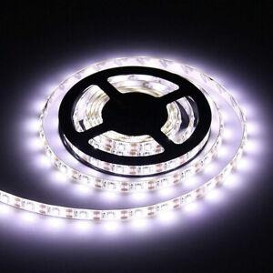 5V USB LED Strip Lights TV Back Lights 3528 Super Bright Cool White Waterproof