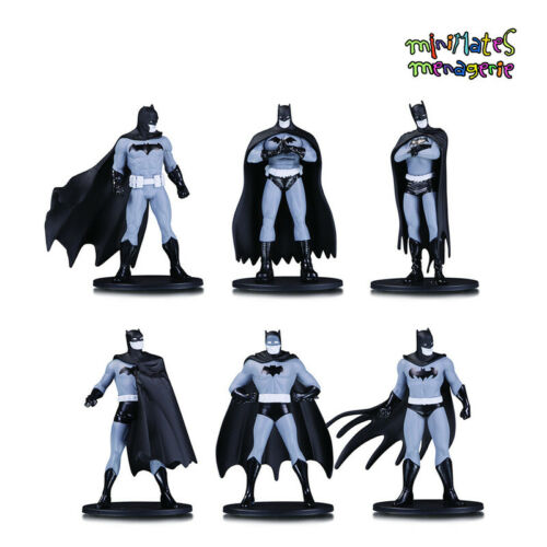 "Batman Noir et Blanc 3.75/"" PVC Mini Figure series 1 Darwyn Cooke sculpter"