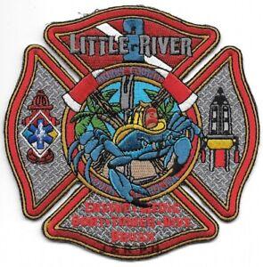 "Dive Little River  Station fire patch 2 // Boat SC 4.5/"" x 4.5/"" size"