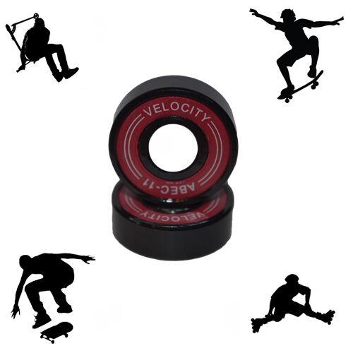Abec 11 608  Wheel bearings Skateboard stunt scooter Quad inline Roller skate 9