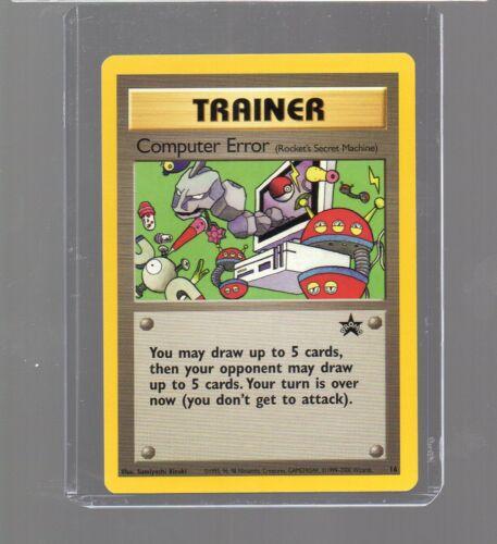 2000 BLACK STAR PROMO 16  Computer Error Pokémon League May 2000