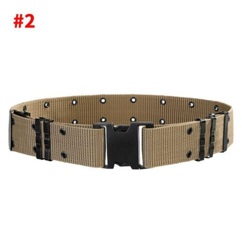 Men/'s Stylish Military Tactical Belt Nylon Waistband Outdoor Sports Waistband