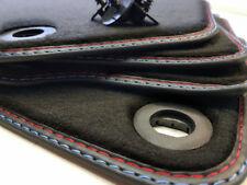 Fußmatten für BMW 3er E30 Cabrio Original Qualität Velours + Befestigung Neu