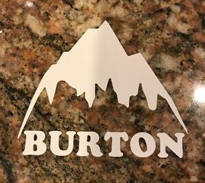 Burton Snowboard Sticker - Skiing Snowboarding Mountain Sports