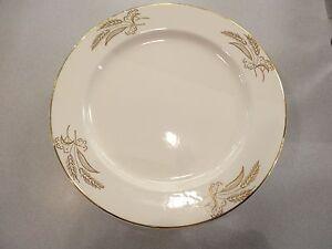 Image is loading Set-of-4-Vintage-Lifetime-Prairie-Gold-Wheat- & Set of 4 Vintage Lifetime Prairie Gold Wheat Dinner China Plates ...