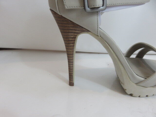 JENNIE Jennie Off Weiß Jennie JENNIE Style Leather Stiletto Pumps Heels Größe 38 8 NWB 04202a