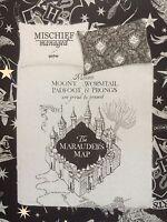 Harry Potter Marauder's Map REVERSIBLE Bedding Set Double OR Single Primark