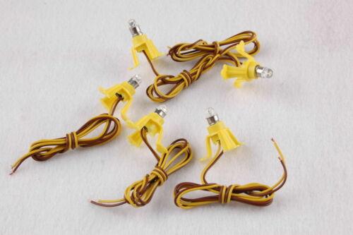 LED Ersatzlampen für Modellhäuser E5.5 16-22V komplett   5 Stück  NEU