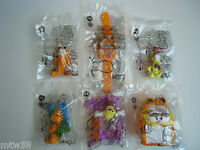 2016 Burger King Garfield Toys Complete Set Of 6 Free Shipping Within 24 Hours