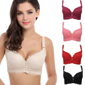1b894191da9de US Women Push Up Lace Strap Bra Underwire Padded Lingerie Underwear ...