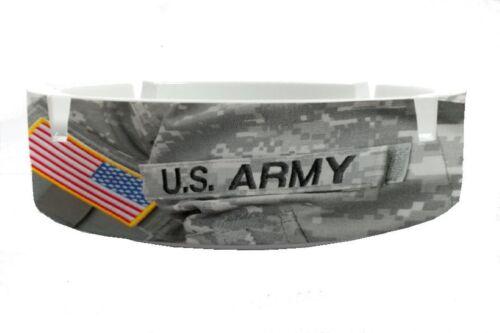 Aschenbecher Rund Nostalgie  USA Armee Ascher
