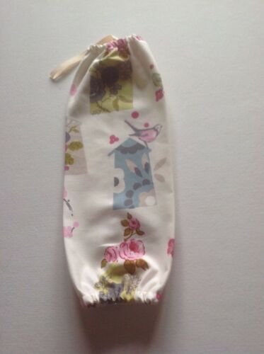 Carrier bag holder Made With bird house fabric from dunelm x