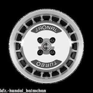 ronal alufelgensatz r10 turbo 7 x 15 opel ascona b ebay. Black Bedroom Furniture Sets. Home Design Ideas