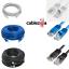 Cat5e-Cat6-Patch-Cord-RJ45-Ethernet-Network-Lan-Cable-Computer-Modem-Router-Lot thumbnail 1