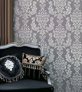 Details about Verde Damask Wall Stencil - Easy DIY Wall Decor - Trendy Wall  Stencil Patterns