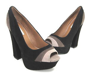 Black Steve Medium Platform Multi Us Pump Womens gaayle Madden b 5 7 Size M THHxvwI