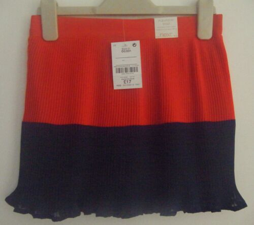 NEXT Cute Pleat Skirt Age 3//7//8//10//12 years  RRP £16-£19