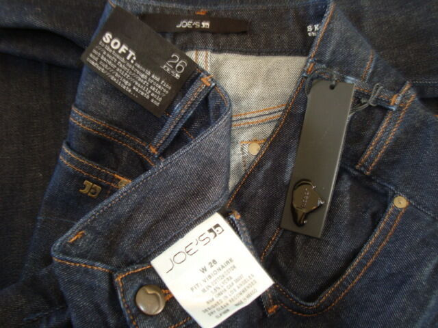 NWT JOE'S THE VISIONNAIRE Skinny Boot Cut Soft Smooth Jeans Wash LAINEY Sz 26