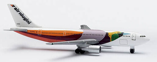 Herpa Wings 1 500 Air Niugini Airbus A300B4 prod id 512152 released 2000