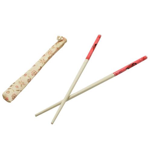 10 Pairs Classic Design Chinese Chopsticks Wedding Gift Present Dinner Set BI