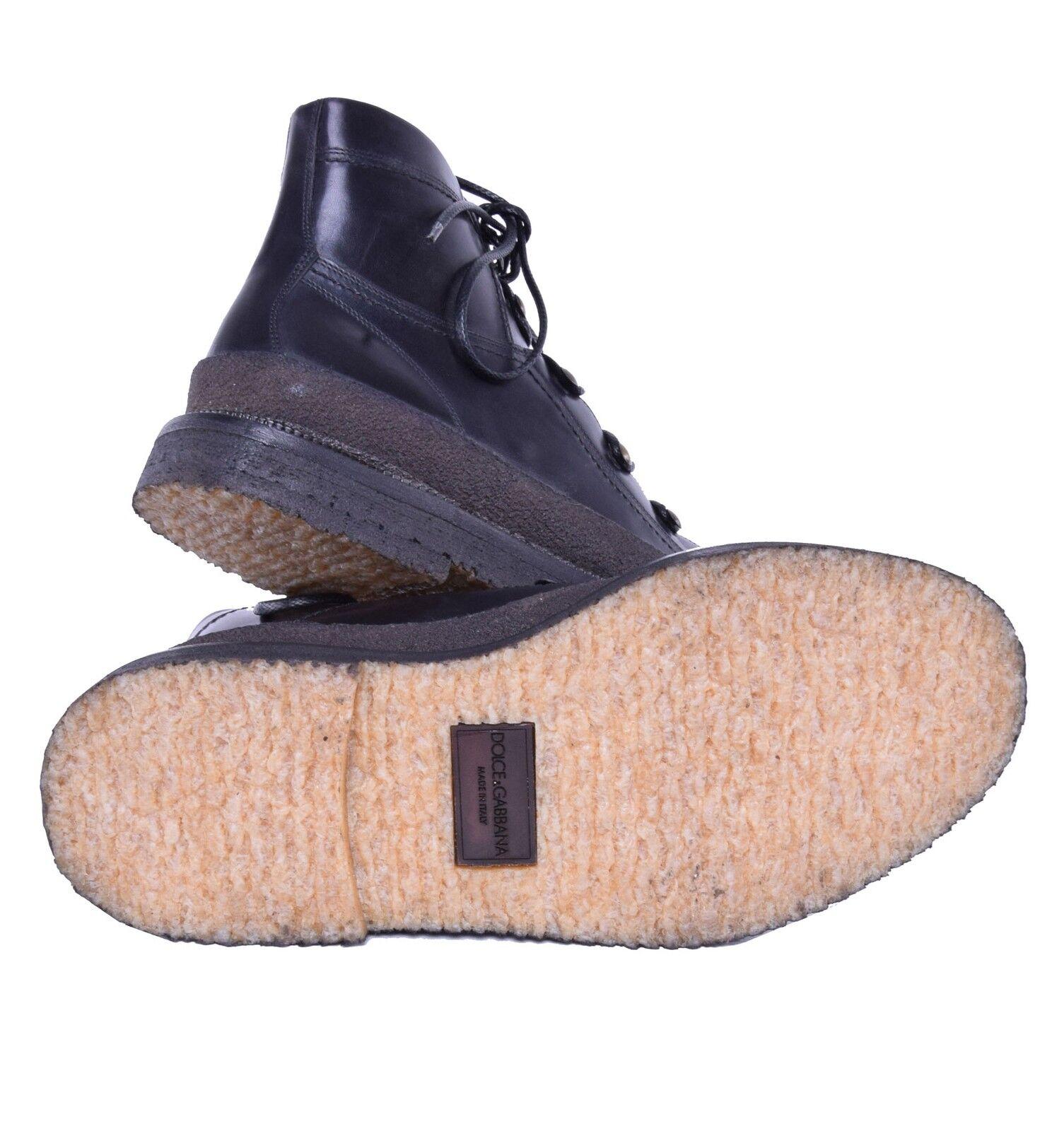 DOLCE Schuhe & GABBANA Bergsteiger-Stil Stiefeletten Schuhe DOLCE Schwarz Stiefel schwarz 03837 8577c4