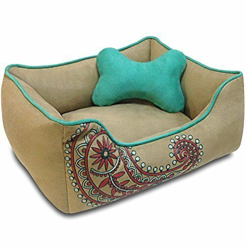 Dog Bed, Heavy Duty, Removable & Washable Cover, Dog Bed for Cats & Dogs