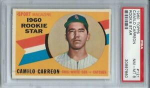 1960-TOPPS-121-CAMILO-CARREON-PSA-8-NM-MT-CHICAGO-WHITE-SOX-ROOKIE-L-K