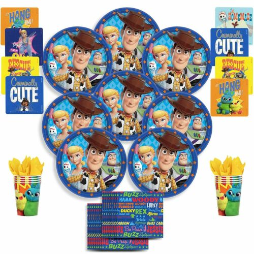 Toy Story 4 Birthday... B-THERE Disney//Pixar Toy Story 4 Party Pack Bundle