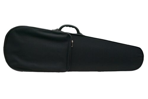 schwarz//rot Petz leichtes violinförmiges Violin Geige Etui Koffer Formetui