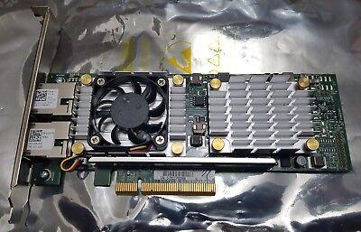 Dual RJ45 10GBase-T 10GbE iSCSI FCoE PCI-e x8 Dell W1GCR QLogic BroadCom  57810S | eBay