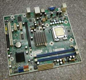 HP-464517-001-480429-001-MS-7525-VER-1-0-Minitower-Socket-775-Motherboard-amp-CPU