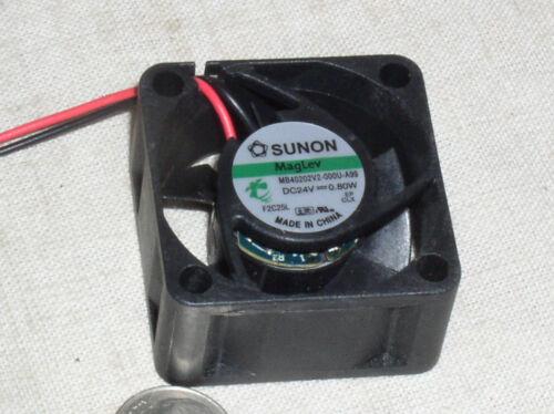 SMALL 40*40*20MM SUNON MB40202V2000U-A99 12-24V DC VAPO BEARING FAN BLOWER USA