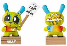 "Kidrobot DUNNY 3/"" Apocalypse Series:Green Doomsayer /""End is Near/"" Joe Ledbetter"