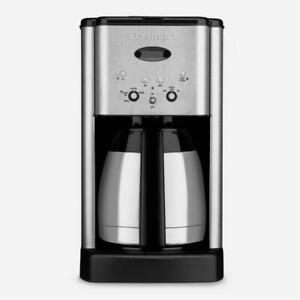Cuisinart DCC-1400IHR Brew Central Thermal 10-Cup Programmable Coffeemaker Refub