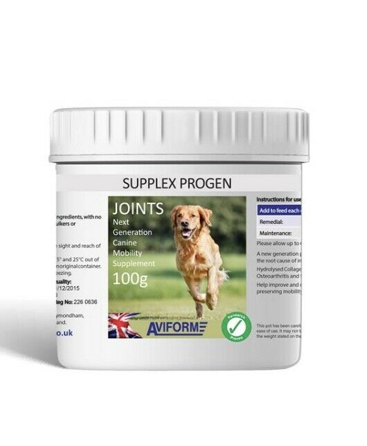 250g Supplex Progen - Dog Joint Supplement - TDP Aviform