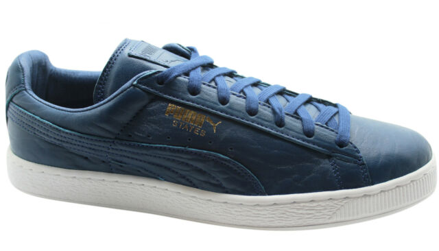 PUMA Shoes Trainers States 358810 Blau Blue Men s Classic Gr 41 - 47 ... fc8750359