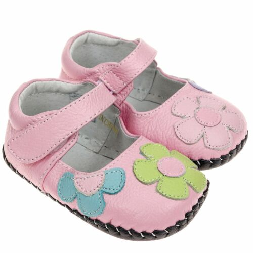 Daisies REAL Leather Summer Shoes Baby Girl/'s Toddler Infant Children/'s Pink