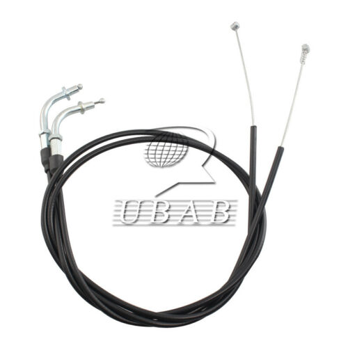 110CM Throttle Cable Wire Set For Harley-Davidson Sportster XL1200 XL883 Black