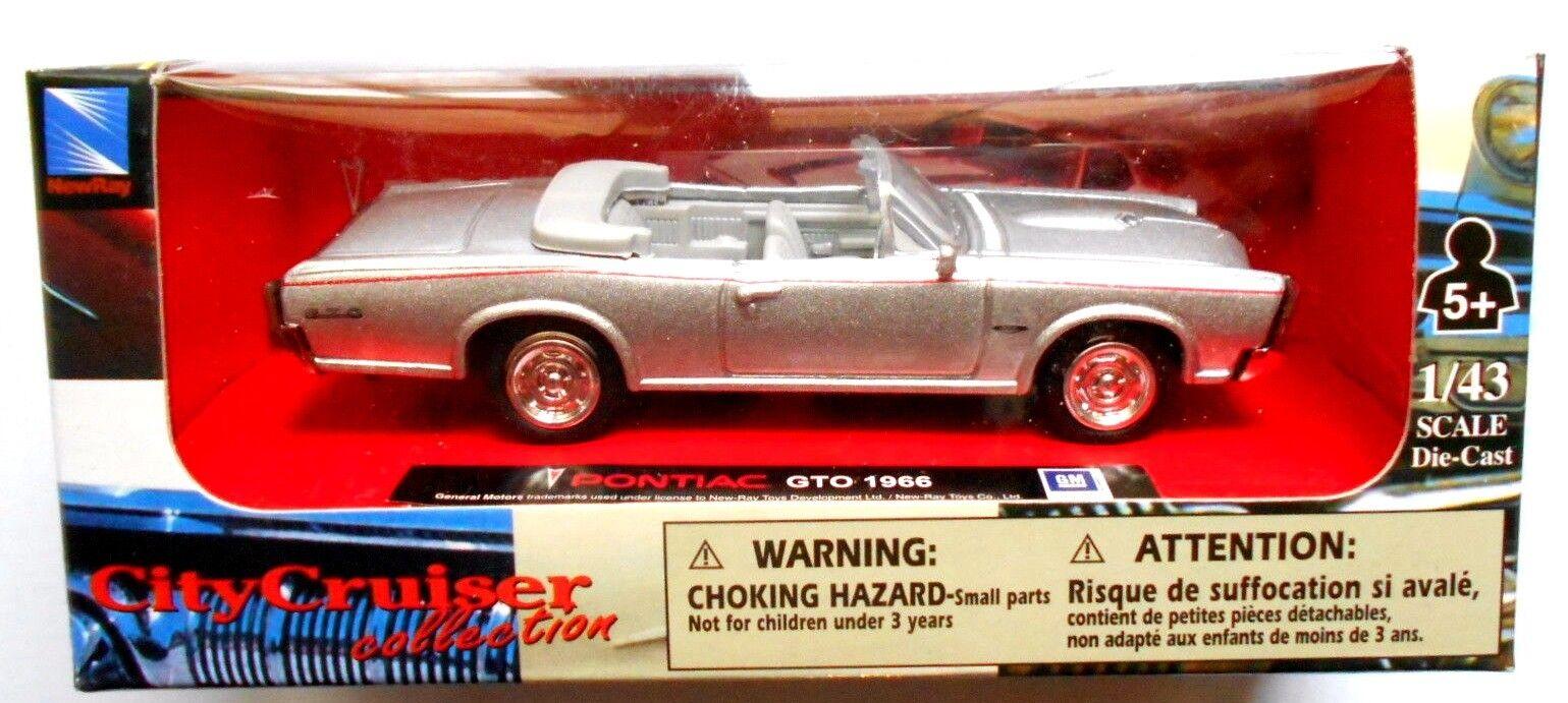 Die cast 1 43 Pontiac GTO 1966 City Cruiser Cruiser Cruiser Collection 34ad73