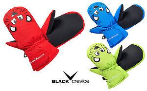 BLACK-CREVICE-Kinder-Handschuhe-Faeustlinge-5000-mm-Wassersaeule