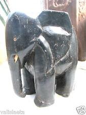ELEPHANT EN EBENE / AFRIQUE ANNEES 30 /ART DECO/ VOIR AUTRES VENTES ...